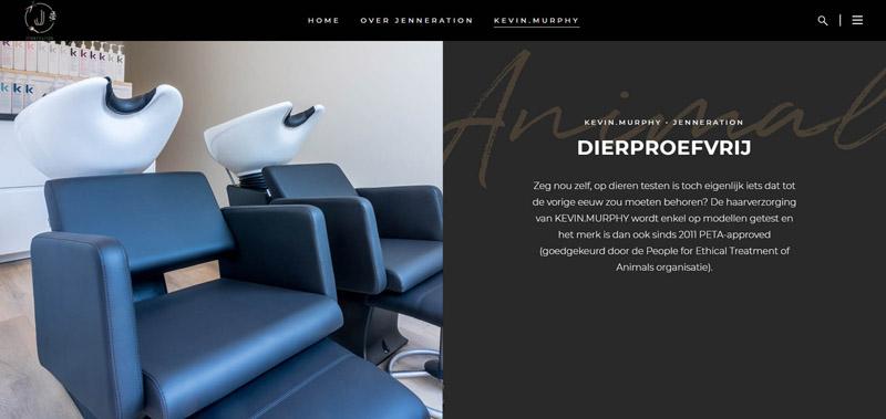 Website fotografie Jenneration